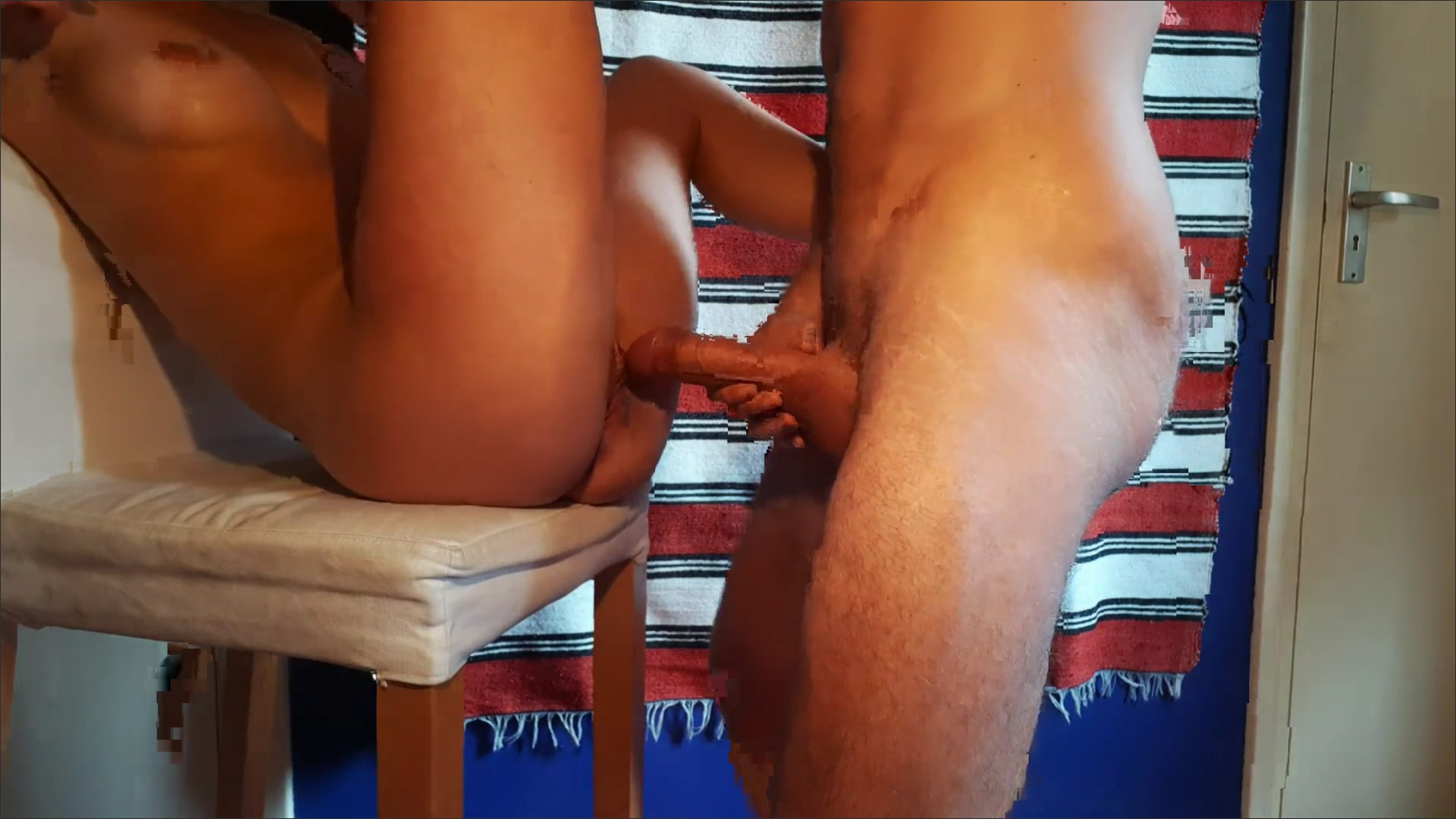 YOUNG FIT COUPLE FUCK UNTIL HE ...
