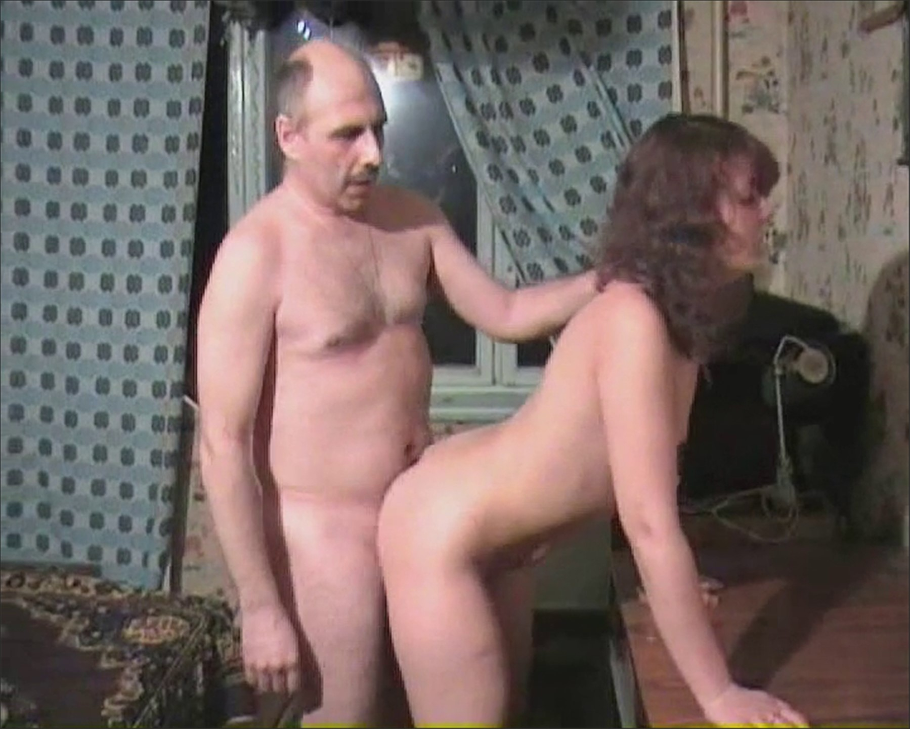Mature woman with old fucker